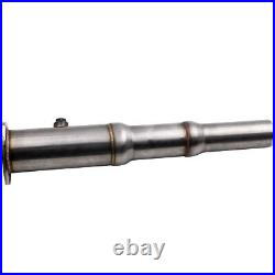 Downpipe Décatalyseur Tube Afrique INOX 3 for VW GOLF 4 BORA 1.8T 1.8 GTI New
